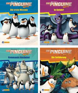 Nelson Mini-Bücher: 4er Dreamworks Die Pinguine aus Madagascar 1