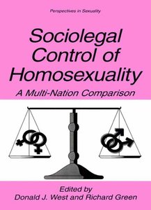 Sociolegal Control of Homosexuality