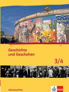 Geschichte und Geschehen für Rheinland-Pfalz. Schülerbuch 3/4