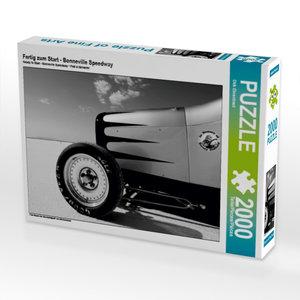CALVENDO Puzzle Fertig zum Start - Bonneville Speedway 2000 Teil