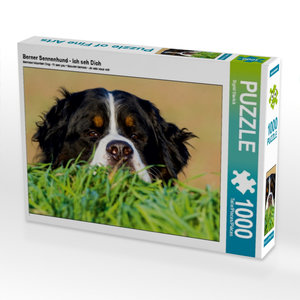 Berner Sennenhund - Ich seh Dich 1000 Teile Puzzle quer