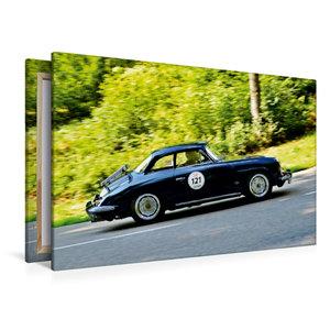 Premium Textil-Leinwand 120 cm x 80 cm quer Porsche 356 Karmann