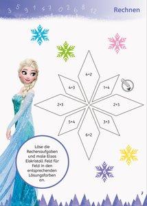 Die Eiskönigin: Mein großes Schulstartbuch