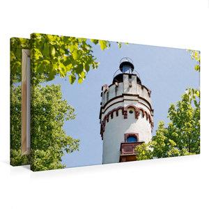 Premium Textil-Leinwand 75 cm x 50 cm quer Antonius-Turm