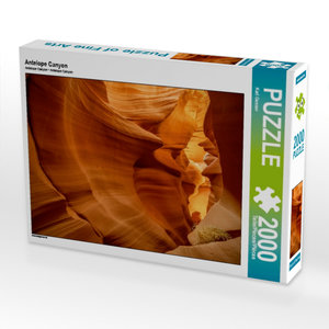 Antelope Canyon 2000 Teile Puzzle quer