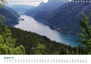 Tirol - Rund um den Achensee (Wandkalender 2019 DIN A4 quer)