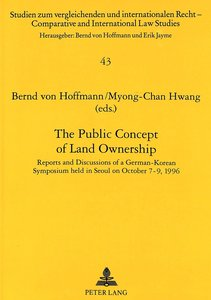 The Public Concept of Land Ownership