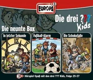 Die drei ??? Kids 3er Box - Folgen 25 - 27 (drei Fragezeichen)