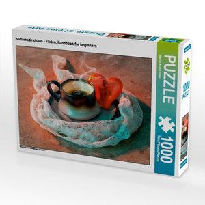 homemade chaos - Flirten, handbook for beginners 1000 Teile Puzz