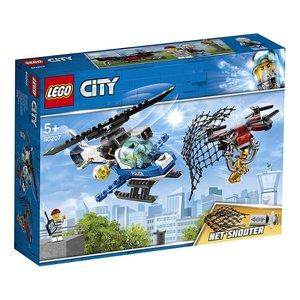 City Polizei Drohnenjagd