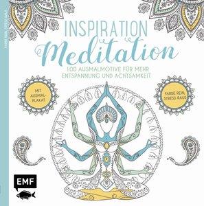 Inspiration Meditation - Ausmalbuch für Erwachsene