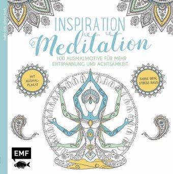 Inspiration Meditation - Ausmalbuch für Erwachsene - zum Schließen ins Bild klicken