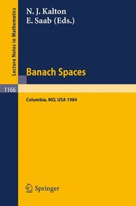 Banach Spaces