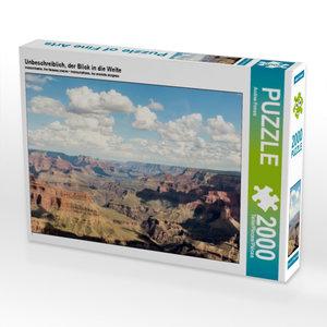 CALVENDO Puzzle Unbeschreiblich, der Blick in die Weite 2000 Tei