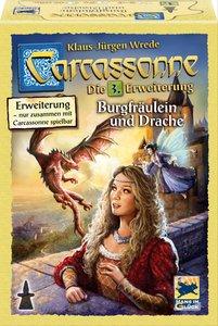 Carcassonne. Burgfräulein und Drache (Erweiterung III)