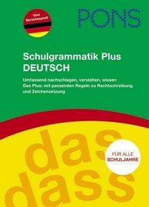 PONS Schulgrammatik Plus Deutsch