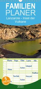 Lanzarote - Insel der Vulkane - Familienplaner hoch (Wandkalende
