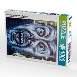 CALVENDO Puzzle Streetart in Manhattan, New York City 1000 Teile