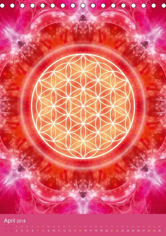 Blume des Lebens - Harmonie durch Symbolkraft - zum Schließen ins Bild klicken