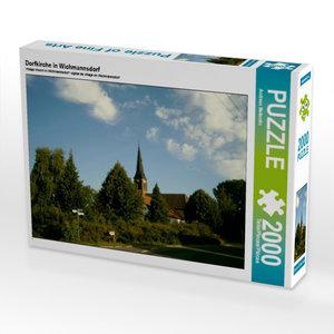 Dorfkirche in Wichmannsdorf 2000 Teile Puzzle quer