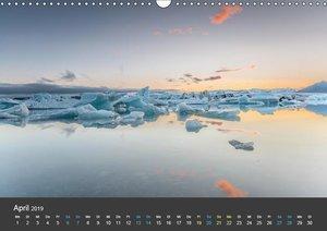 Island (Wandkalender 2019 DIN A3 quer)