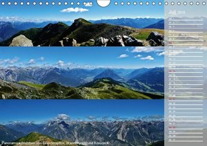 Alpenüberquerung (Wandkalender 2019 DIN A4 quer)