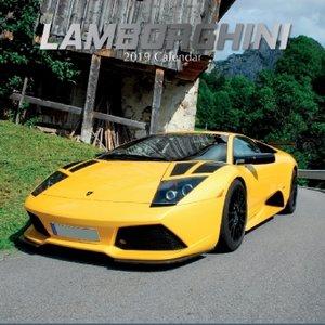 Lamborghini 2019 - 16-Monatskalender