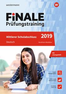 Finale Prüfungstraining 2019 - Mittlerer Schulabschluss Nordrhei