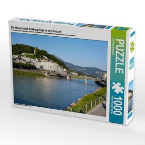 CALVENDO Puzzle Die Mozartstadt Salzburg liegt an der Salzach 10