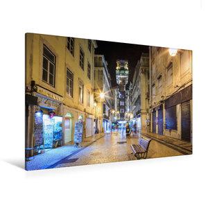 Premium Textil-Leinwand 120 cm x 80 cm quer Elevador de Santa Ju