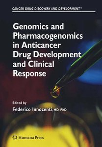Genomics and Pharmacogenomics in Anticancer Drug Development and