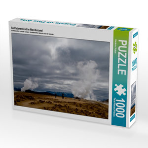 Solfatarenfeld in Nordisland 1000 Teile Puzzle quer