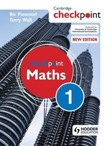Checkpoint Maths: Book 1
