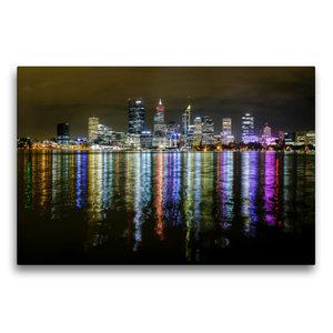 Premium Textil-Leinwand 75 cm x 50 cm quer Perth