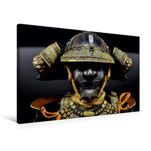 Premium Textil-Leinwand 75 cm x 50 cm quer Samurai