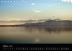 Impressionen vom östlichen Bodensee (Tischkalender 2019 DIN A5 q