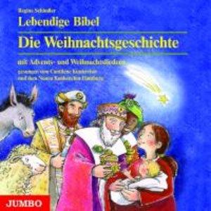 Lebendige Bibel. Die Weihnachtsgeschichte. CD