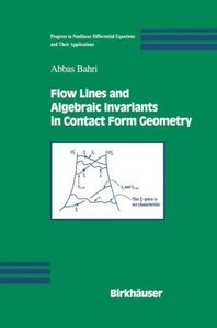 Flow Lines and Algebraic Invariants in Contact Form Geometry