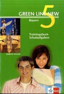 Green Line New 5. Trainingsbuch Schulaufgaben. Bayern