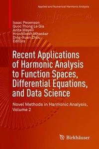 Recent Applications of Harmonic Analysis to Function Spaces, Dif