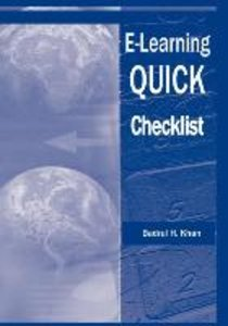 E-Learning Quick Checklist