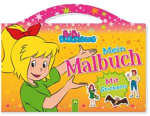 Bibi Blocksberg Mein Malbuch mit Stickern