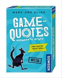 Kosmos 692926 - Game of Quotes, Marc Uwe Kling