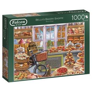 Falcon 11203 - De Luxe, Bellas Baakery Shoppe, Puzzle, 1000 Teil