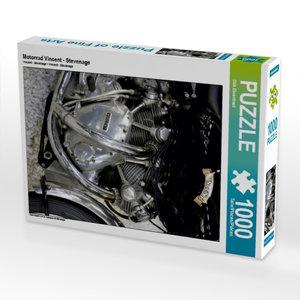 CALVENDO Puzzle Motorrad Vincent - Stevenage 1000 Teile Lege-Grö
