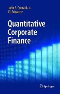 Quantitative Corporate Finance