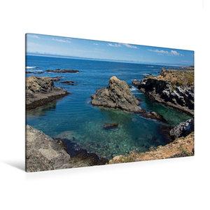 Premium Textil-Leinwand 120 cm x 80 cm quer Point Cabrillo, CA