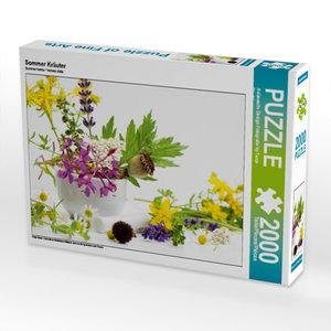 Sommer Kräuter 2000 Teile Puzzle quer
