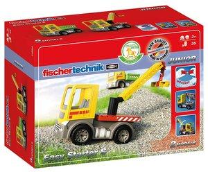 Fischertechnik 548902 - JUNIOR Easy Starter S, 2 LKW Modelle (Kr