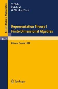 Representation Theory I. Proceedings of the Fourth International